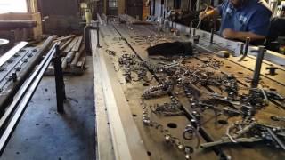 Walk thru Geiger Mfg of Stockton, an industrial machine shop active...