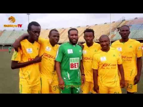 "JAY JAY OKOCHA, KANU NWANKWO, YOBO, AY, AKPORORO AT"" A TRIP TO JAMAICA NOVELTY FOOTBALL MATCH"