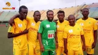 JAY JAY OKOCHA KANU NWANKWO YOBO AY AKPORORO AT A TRIP TO JAMAICA NOVELTY FOOTBALL MATCH