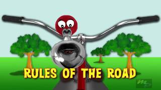 How to ride a bike safely with Rules of the Road  fun for Kids