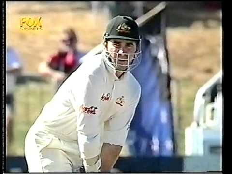 Justin Langer 122* vs NZ 3rd test 2000