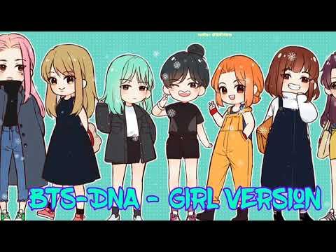 BTS - DNA NightCore (Female Version)