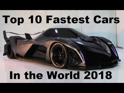 top 10 fastest cars in the world 2018 new world record. Black Bedroom Furniture Sets. Home Design Ideas