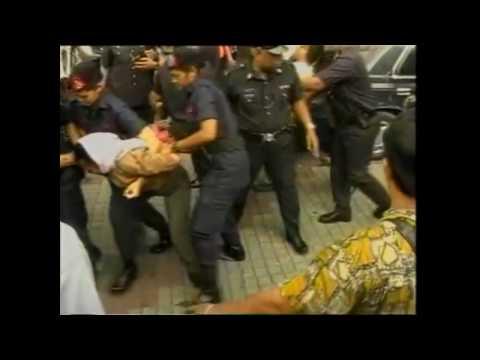 Kenangan Reformasi 1998 dan 2000 - Keganasan regime Mahathir Mohamad