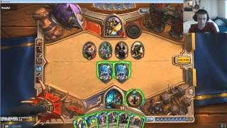 Hearthstone One VS One against Nick, Game 1