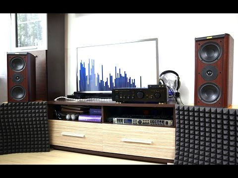 Denon PMA-655R amplifier + Jamo Classic 4 sound test [HQ]