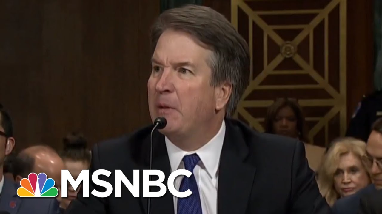 Hearing Exposes Brett Kavanaugh Temperament Problem, Credibility Issues | Rachel Maddow | MSNBC