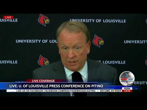 Rick Pitino Effectively Fired as Louisville Coach - Full Press Conference 9/27/17