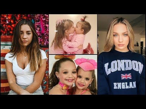 Mackenzie and Maddie Ziegler From Baby to Teenager 2019