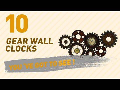 Gear Wall Clocks // New & Popular 2017