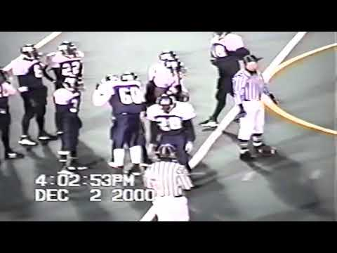 2000 CT Class S State Football Championship Griswold vs Hyde New Haven