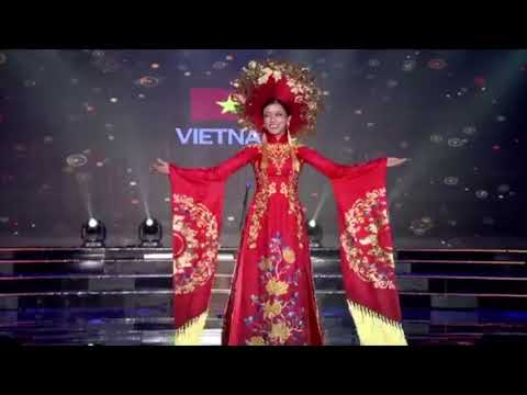 Huyen My Tran Nguyen presents Vietnamese Ao Dai