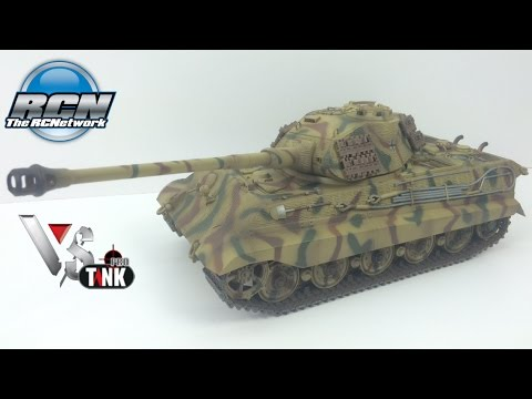 VS Tank 1/24th Panzer VI King Tiger - Unboxing and First Run!