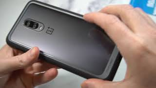 SUPCASE Unicorn Beetle Hybrid Clear Case for OnePlus 6T Unboxing and Review