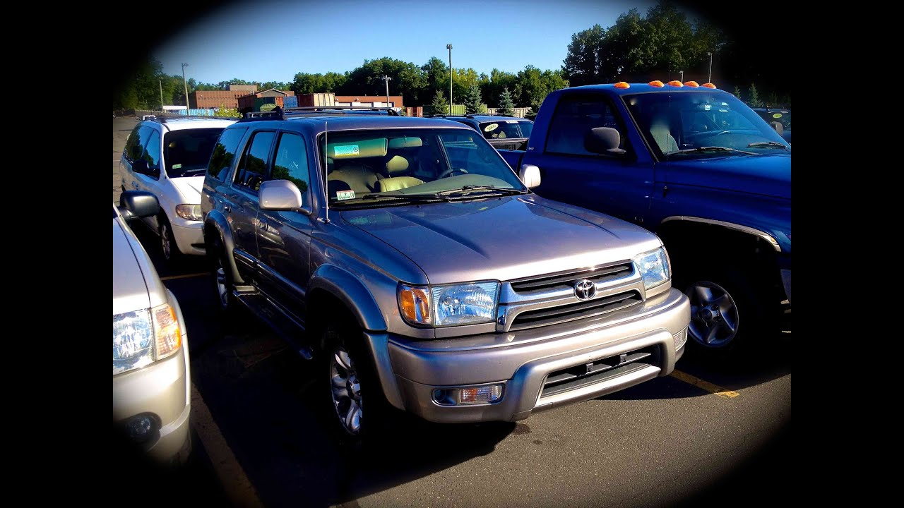 2002 Toyota 4runner Limited 4wd Start Up Quick Tour