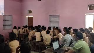 Raj Career Portal information given to students