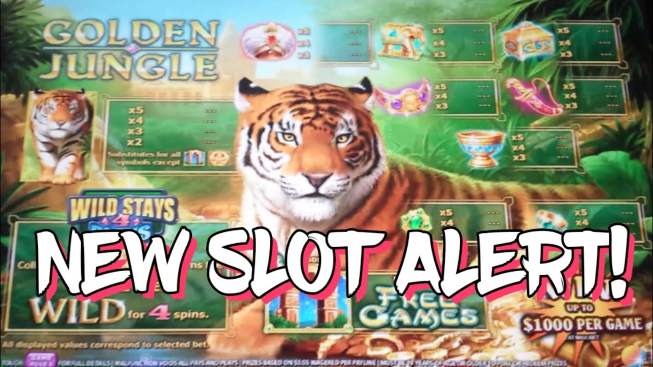 Golden Jungle Grand Slot Machine