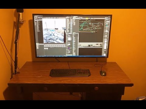Cheap Large 4K TV As A Computer Monitor - 43 Inch Sweet Spot Amazing Results!
