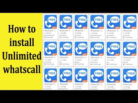 How to install unlimitted whatscall in android and iphone & Earn unlimited Credit in Urdu/Hindi
