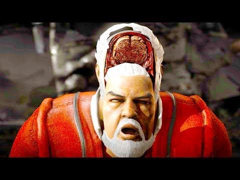 Mortal Kombat XL - All Fatalities & X-Rays on Santa Claus Costume Skin Mod 4K Ultra HD Gameplay Mods