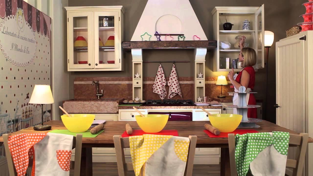 Il Mondo di Bu: laboratori di cucina creativa per bambini! - YouTube