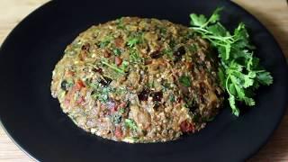 স্পেশাল পোড়া বেগুন টমেটো ভর্তা \\ Bangladeshi Recipe Tomato Vortar\\Begun Recipe