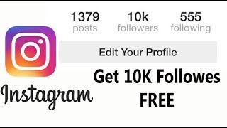 How to get 10K instagram followers fast without any survey