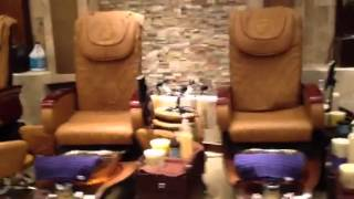 Deluxe nail salon and spa