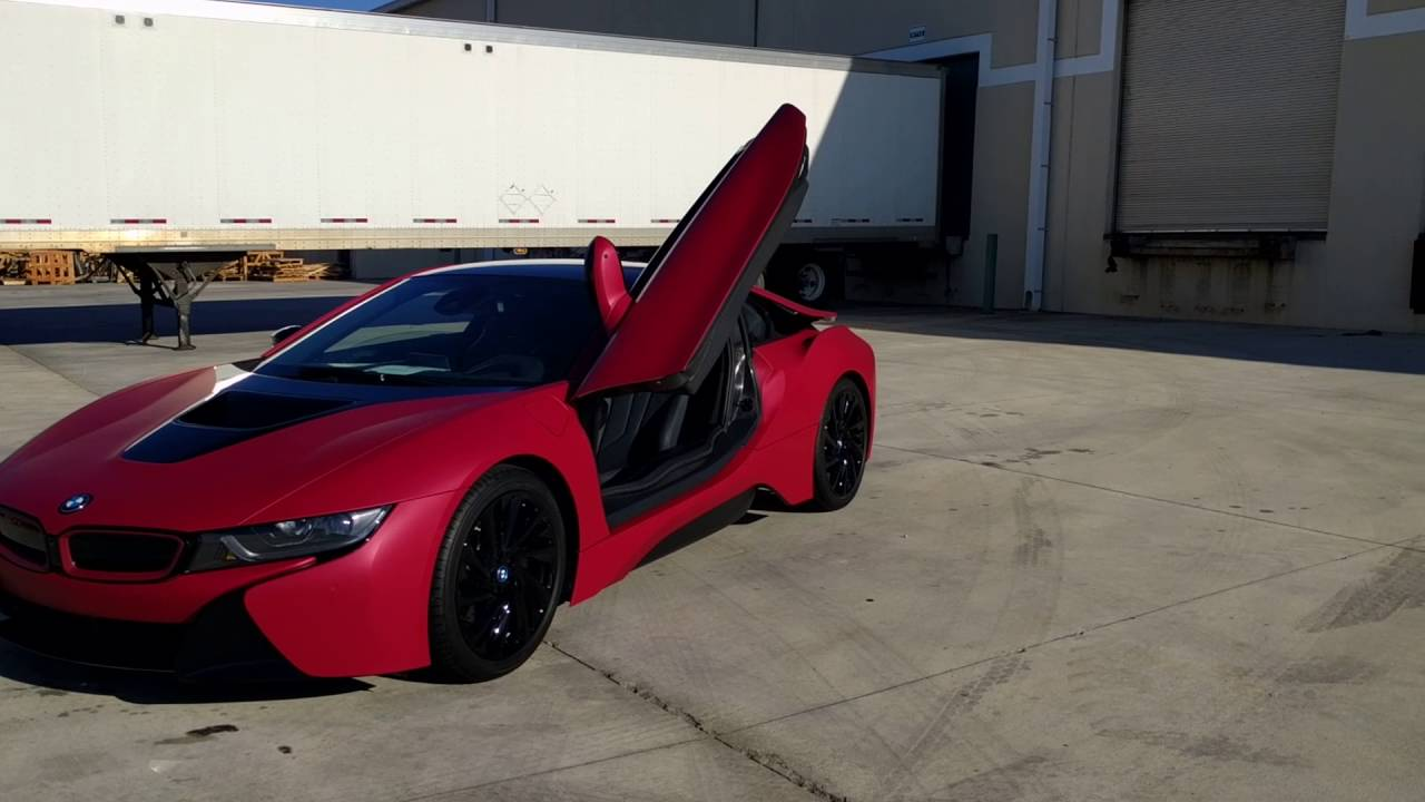 Bmw I8 Wrap Youtube