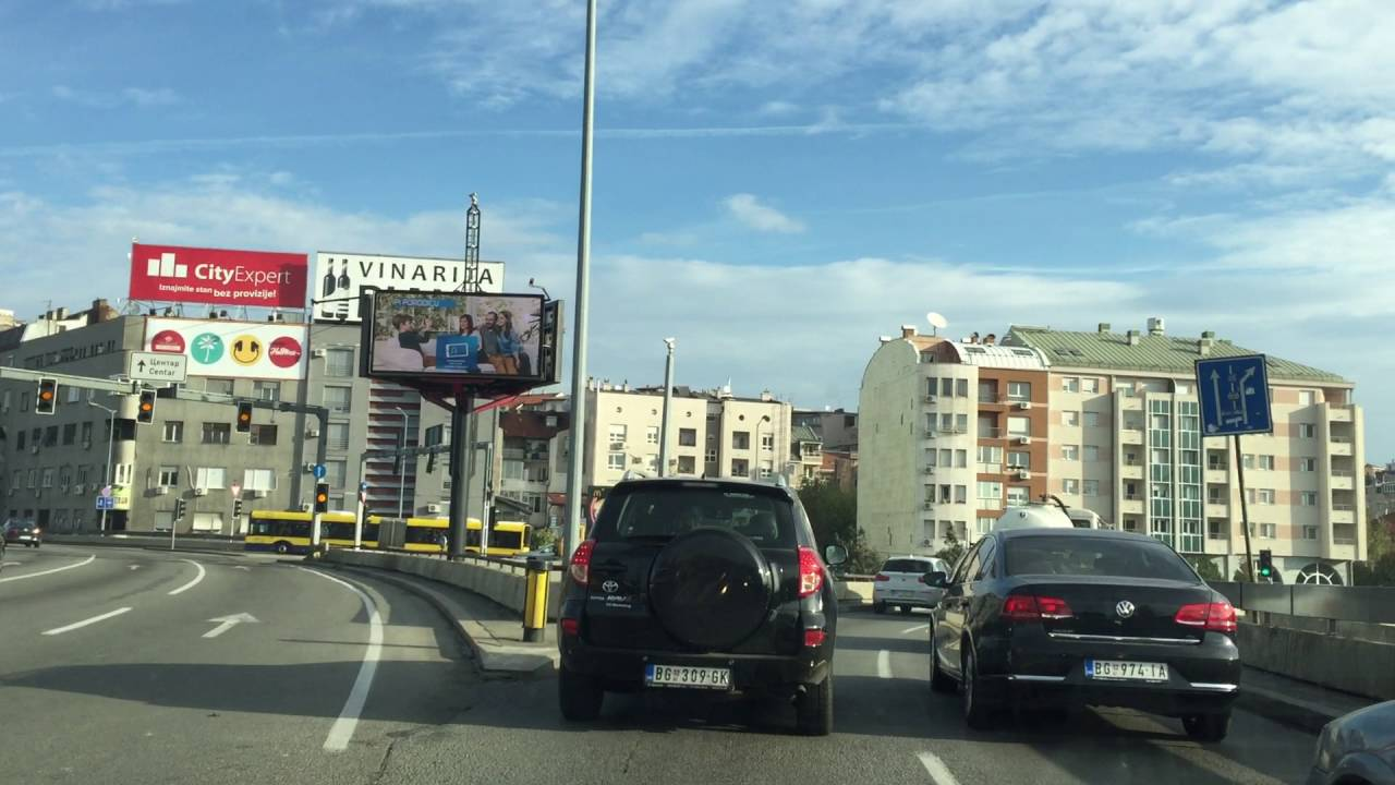 Autokomanda Kruzni Tok Juzni Bulevar Youtube