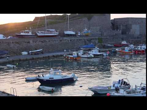Fishing Boats in Harbour, Alderney