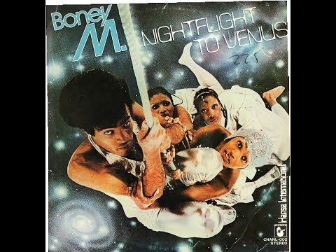 BONEY M. - NIGHTFLIGHT TO VENUS (1978) LP VINILO FULL ALBUM