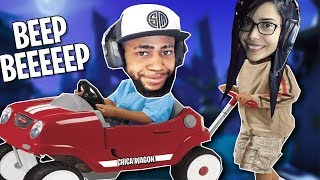 I got carried? Duos w/ TSM Daequan (Fortnite - Battle Royale)