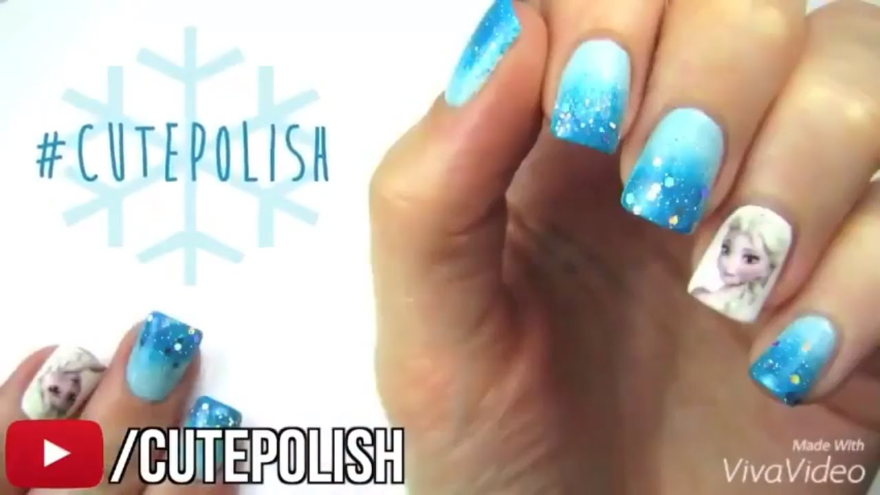 Diy Nail Art Tools With Easy Nail Art Designs How To Paint Your Nails At Home Frozen Nail