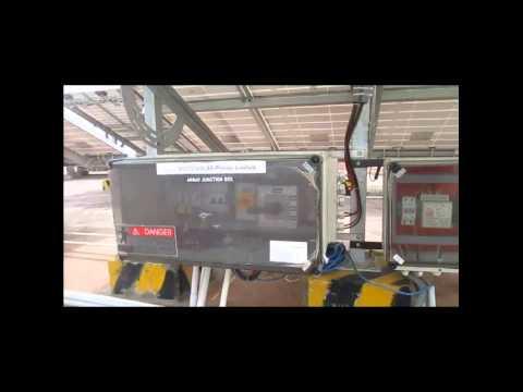 Power Control Unit of a Hybrid PV utility Solar Pump