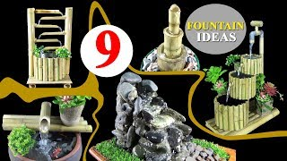 9 BEST Homemade Fountain Ideas ✅DIY Water Fountain