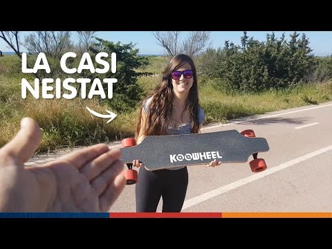UN SKATE ELÉCTRICO Y UNA MALA IDEA!!