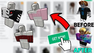 Free Clothes In Roblox Hack How To Get Free Clothes On Roblox 2020 April Youtube
