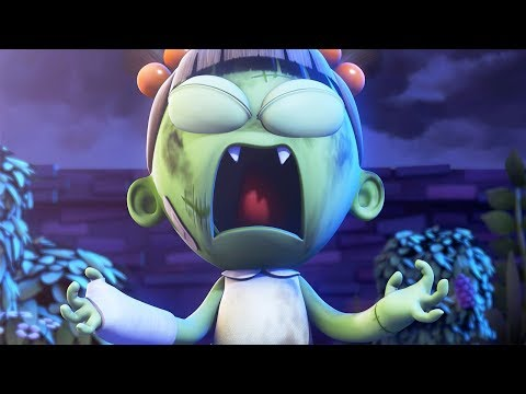 Funny Animated Cartoon | Spookiz | Zizi's Super Power | 스푸키즈 | Videos For Kids