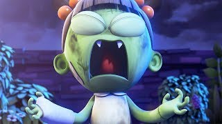 funny animated cartoon spookiz zizis super power 스푸키즈 cartoon for children