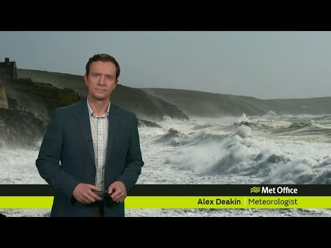 Monday evening forecast 15/01/18
