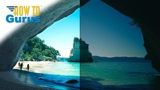 how to lighten and fix a tricky dark photograph in adobe photoshop elements 15 14 13 12 11 tutorial