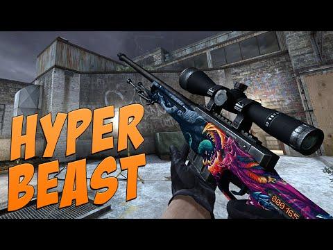 CS:GO - AWP   Hyper Beast Gameplay
