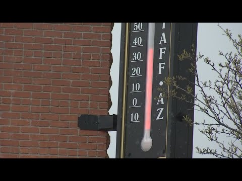 Locals And Tourists Are Shocked By Flagstaff Snow In May