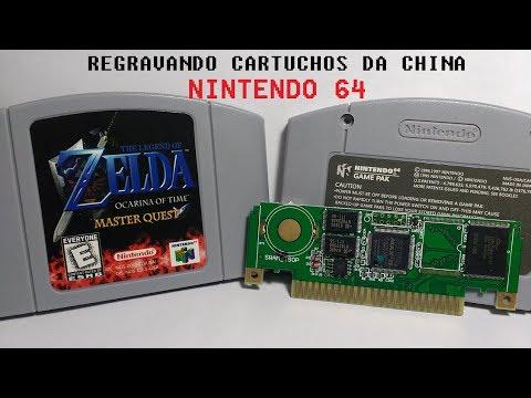 N64 - Regravando Cartucho De Nintendo 64 (Zelda Ocarina Of Time)