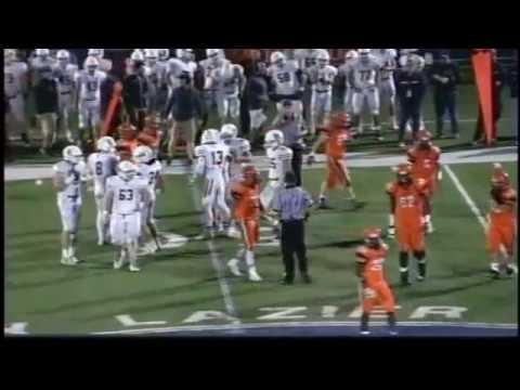 New Trier football v Evanston 10 28 17