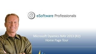 Microsoft Dynamics Home Page Tour in NAV 2013