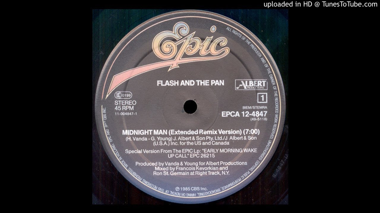 Flash And The Pan ‎– Midnight Man [Extended Remix Version '85] - YouTube