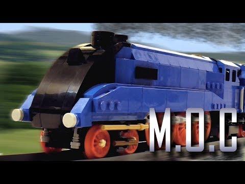 LEGO 4468 'Mallard' (Steam Engine) - MOC Showcase