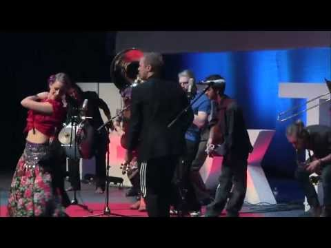 Live performance: Lemon Bucket Orkestra at TEDxToronto
